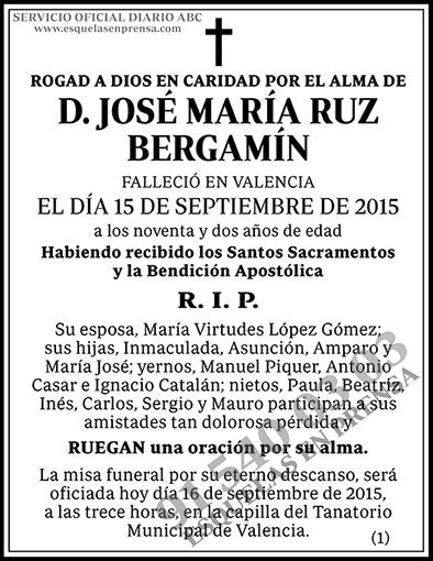 José María Ruz Bergamín